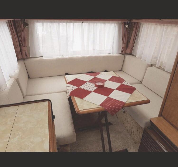 Caravan upholstery repair in Kent